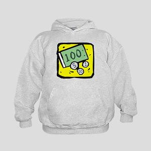100 Dollar Bill Hoodie