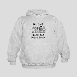 Custom Daycare Teacher Kids Hoodie