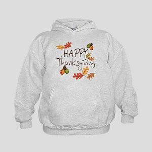 Happy Thanksgiving Kids Hoodie
