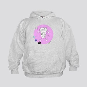 PINK ROSE (Mew! Itty Bitty Kitty) Hoodie