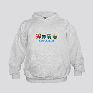 Personalized Kids Choo Choo Train Hoodie