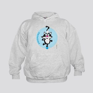 FRISKERS ON A BLUE BALL Hoodie