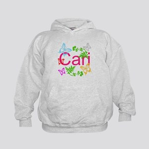 Personalize Name Dancing Butterflies Hoodie