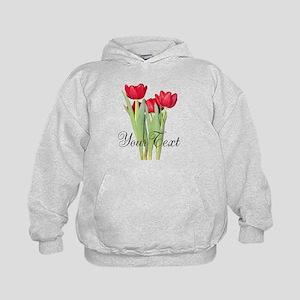 Personalizable Tulips Hoodie
