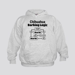 Chihuahua Logic Kids Hoodie