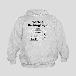 Yorkie Logic Kids Hoodie