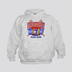 Baseball 7th Birthday Kids Hoodie