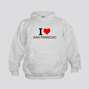 I Love San Francisco Hoodie