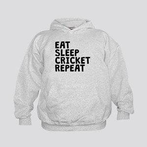 Eat Sleep Cricket Repeat Hoodie
