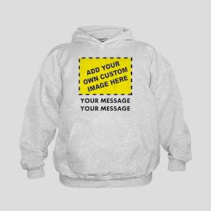 Custom Image & Message Kids Hoodie