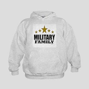 Military Family Kids Hoodie