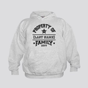 Family Property Kids Hoodie
