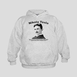 Tesla: Religion Kids Hoodie