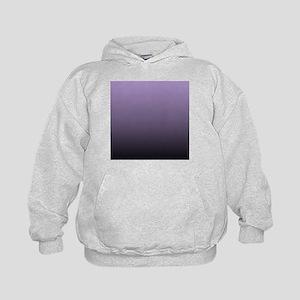 black purple ombre Kids Hoodie