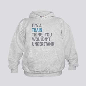 Train Thing Kids Hoodie