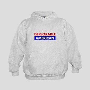 Deplorable American Kids Hoodie