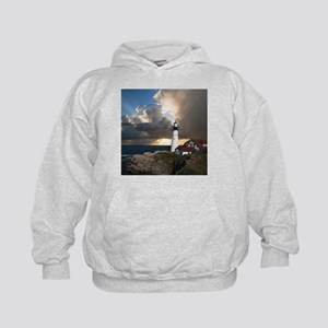 Lighthouse Lookout Kids Hoodie