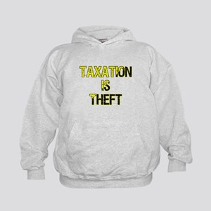 Taxation Is Theft Kids Hoodie