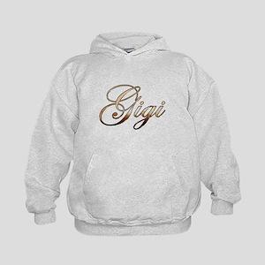 Gold Gigi Kids Hoodie