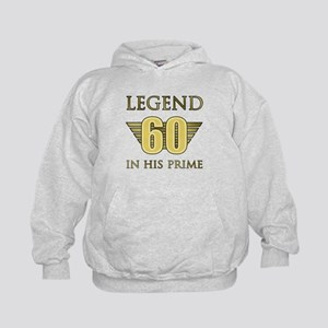 60th Birthday Legend Kids Hoodie