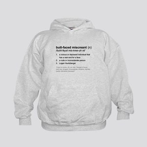 Butt-faced Miscreant Kids Hoodie
