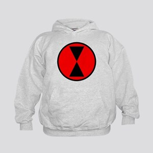 7th Infantry Division Kids Hoodie