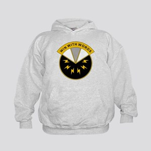 17th Psychological Operations Battalio Kids Hoodie