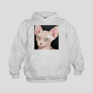 Cat 412 sphynx Kids Hoodie