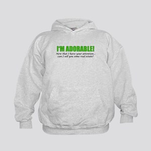 Im Adorable! Can I sell you some real Kids Hoodie