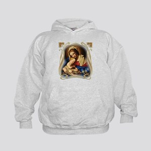 Mary was Pro-Life (square) Kids Hoodie