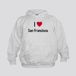 I love San Francisco Kids Hoodie