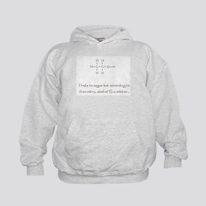 Alcohol is a solution Kids Hoodie