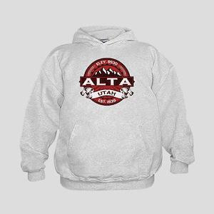 Alta Red Kids Hoodie