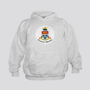 Caymanian Coat of Arms Seal Kids Hoodie