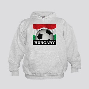 Hungary Football Kids Hoodie