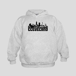 Cleveland Skyline Kids Hoodie
