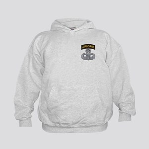 Master Airborne Wings with Ai Kids Hoodie