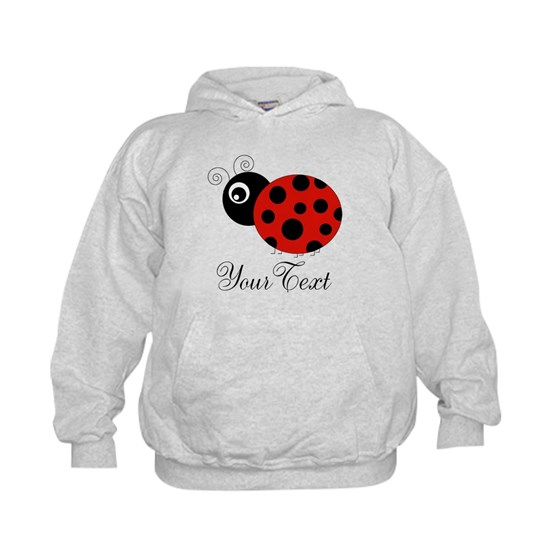Red and Black Personalizable Ladybug