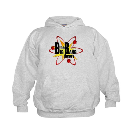 May The Fourth Be With You Big Bang Theory: The Big Bang Theory Atom Symbol Kids Hoodie Big Bang