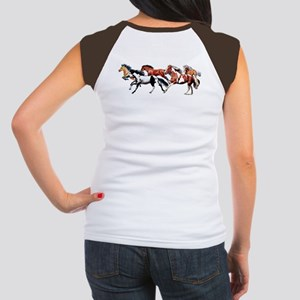 Make Tracks and Herd Women's Cap Sleeve T-Shirt