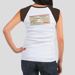 Paid in Full Junior's Cap Sleeve T-Shirt