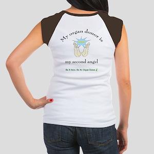 Organ Donor Angel Wings Women's Cap Sleeve T-Shirt
