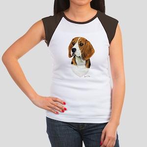 Beagle Women's Cap Sleeve T-Shirt