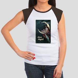 Fairy of the Moon Women's Cap Sleeve T-Shirt