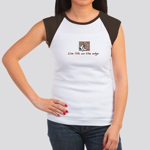 Life on the Edge Women's Cap Sleeve T-Shirt