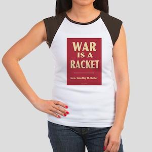 War Is A Racket Women's Cap Sleeve T-Shirt