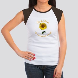 Let the Son In Women's Cap Sleeve T-Shirt