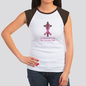In Memory Cross Women's Cap Sleeve T-Shirt