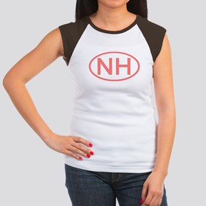 NH Oval - New Hampshire Women's Cap Sleeve T-Shirt