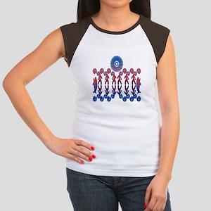 Tribal Life Junior's Cap Sleeve T-Shirt